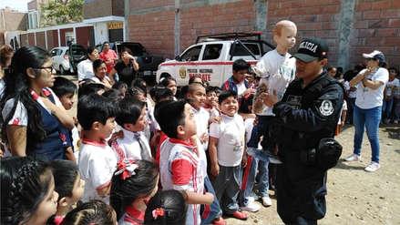 Escolares de Lambayeque fueron sensibilizados contra uso de pirotécnicos