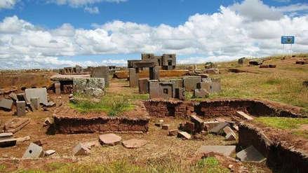 Un milenario edificio de la civilización Tiahuanaco fue 'impreso' en 3D