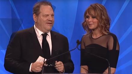 Harvey Weinstein alardeó de haber dormido con Jennifer Lawrence, según nuevo testimonio