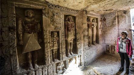 Egipto   Descubren tumba de 4.400 años de antigüedad