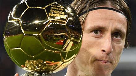 Real Madrid: Luka Modric ofrece el Balón de Oro a la afición del Bernabéu
