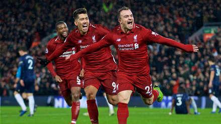 Liverpool derrotó a Manchester United y sigue liderando la Premier League
