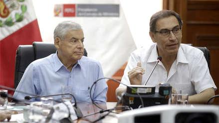 Martín Vizcarra descarta separación de César Villanueva como jefe del Gabinete Ministerial