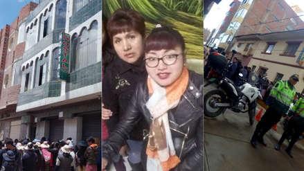Puno | Madre e hija fueron halladas calcinadas en su vivienda en Ilave