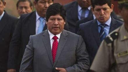 Fiscalía presentó pedido de prisión preventiva contra Edwin Oviedo