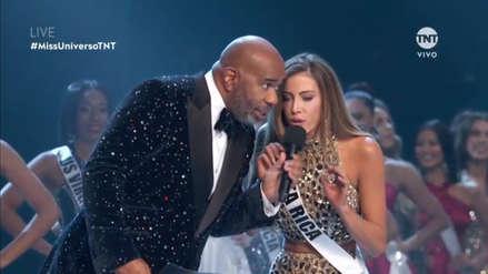 Miss Universo 2018: Miss Costa Rica 'troleó' a Steve Harvey frente a millones de televidentes [VIDEO]