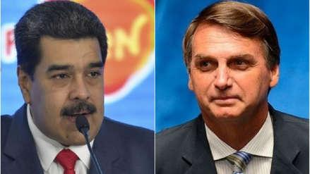 Nicolás Maduro no fue invitado a la investidura de Jair Bolsonaro en Brasil