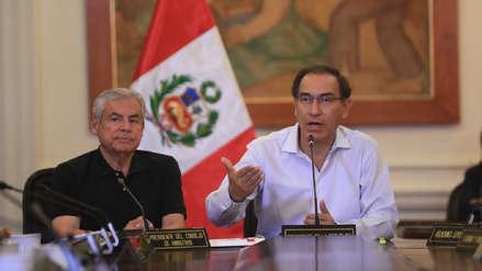 Gore Ejecutivo: Martín Vizcarra y César Villanueva se reunirán con gobernadores regionales electos