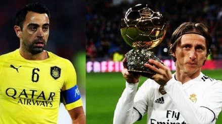 El especial agradecimiento de Xavi tras enterarse que Luka Modric le dedicó el Balón de Oro