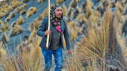Cumplió su promesa: Gobernador electo de Arequipa subió al Misti
