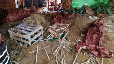 Navidad 2018 | Destruyen nacimiento y roban adornos en iglesia del centro de Trujillo