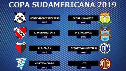 Copa Sudamericana: estos son los rivales de los equipos peruanos