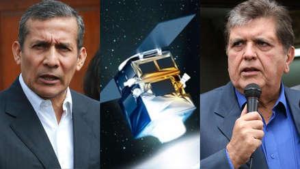 Alan García y Ollanta Humala se enfrentan por el satélite Perú SAT-1