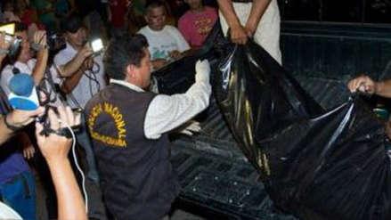 Sospechoso de asesinato de mujer y sus hijos presenta heridas en partes de su cuerpo