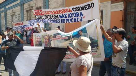 Trabajadores de empresa Pucalá protestan contra administración judicial