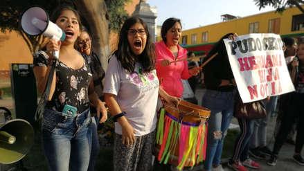 Protestan por liberación de hombre acusado de presunto intento de violación a una joven en Trujillo