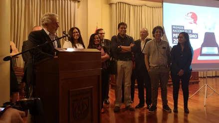 IDL-Reporteros ganó el Gran Premio Nacional de Periodismo 2018