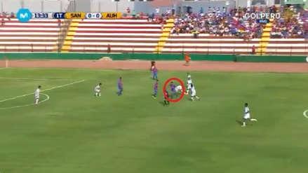 Alianza Universidad vs. Santos FC: Diego Encinas anotó un golazo desde fuera del área