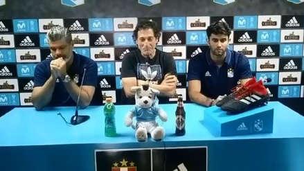 Mario Salas se despidió de Sporting Cristal: