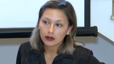 """Arlette Contreras: """"No solo he sido víctima de Adriano Pozo, sino también del Estado"""""""