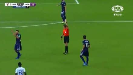 River Plate vs. Al Ain: el árbitro anuló un gol de los árabes tras recurrir al VAR