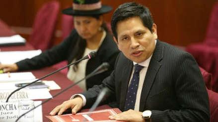 Ministerio Público abrió investigación al fiscal Abel Concha por presunto soborno