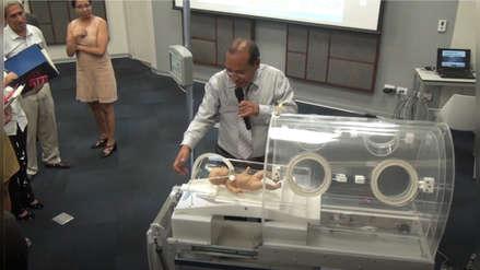 Científicos peruanos crean incubadora portátil con respirador artificial que salvará la vida de recién nacidos de alto riesgo