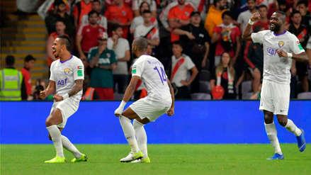 Al Ain vuelve a sorprender a River Plate y empata el partido con este gol de Caio