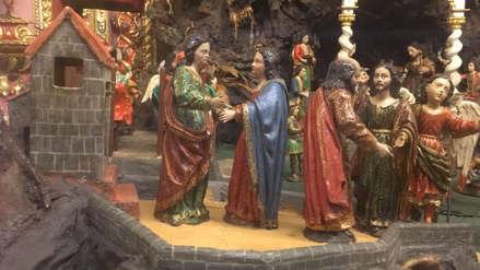 Video | Conoce el nacimiento navideño de 288 años antigüedad en Arequipa