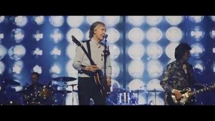 Dos ex Beatles y un Rolling Stones se unen sobre el escenario en Londres [VIDEO]