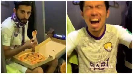 River Plate vs. Al Ain:  baile y pizza en el vestuario emiratí tras clasificar a la final del Mundial de Clubes