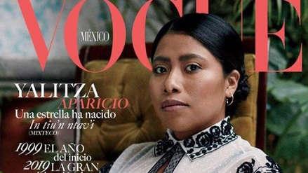 """""""Roma"""": Yalitza Aparicio cautiva en la portada de la revista """"Vogue"""