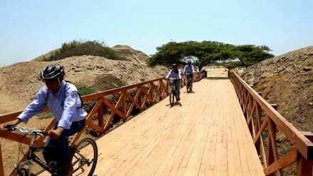 Chan Chan ahora puede ser visitada en bicicleta