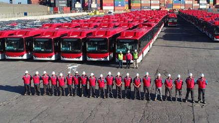 Chile renovó su transporte público con sus primeros 100 buses eléctricos