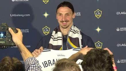 Zlatan Ibrahimovic renovó con Los Angeles Galaxy