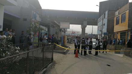 Una mujer fue asesinada a balazos en una calle de San Juan de Lurigancho