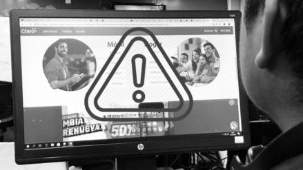Claro Perú tiene tres días para arreglar página web, advierte Osiptel