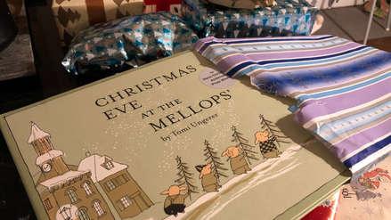 Un anciano dejó antes de morir regalos a su vecina de 2 años para las siguientes 14 navidades