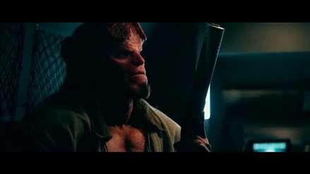 """""""Hellboy"""": David Harbour se muestra en el divertido y violento tráiler del reboot [VIDEO]"""