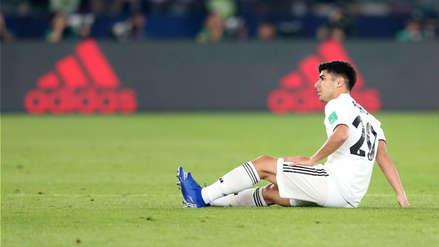 Real Madrid: Marco Asensio se lesionó y es duda para la final del Mundial de Clubes