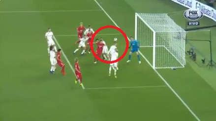 Real Madrid se salvó dos veces al inicio del partido ante Kashima Antlers