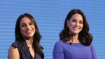 Crean campaña para frenar comentarios racistas y sexistas contra Meghan Markle y Kate Middleton