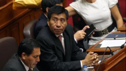 Fiscal que ve el caso Mamani dice que el parlamentario busca dilatar su proceso