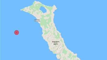 Terremoto de 7.4 se registró cerca a una península de Rusia