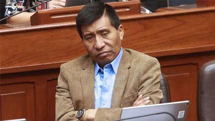 PJ declaró fundado pedido de levantamiento de inmunidad parlamentaria a Moisés Mamani