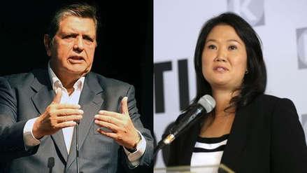 Alan García y Keiko Fujimori cierran el 2018 como los políticos con mayor desaprobación del Perú