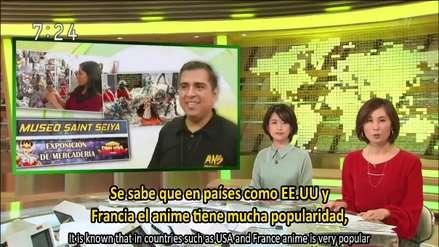 VIDEO: Televisión japonesa hace reportaje de Saint Seiya en Perú