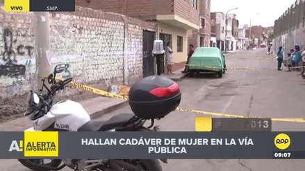 Vecinos hallan el cadáver de una mujer en una calle de San Martín de Porres
