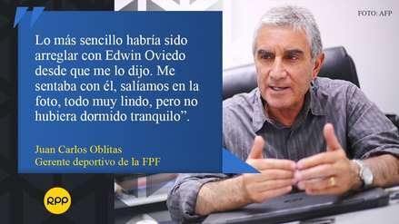 Juan Carlos Oblitas: sus mejores frases tras renovar con la Selección Peruana