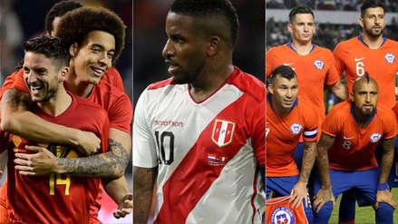 Perú: las 20 mejores selecciones del último ranking FIFA